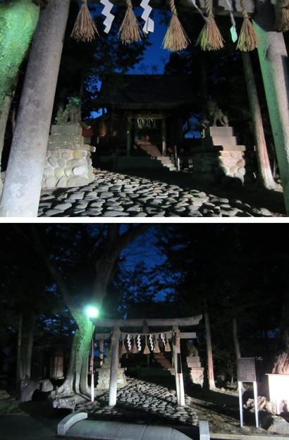 Photos: 13.12.12.金子城(諏訪市)金子八幡宮