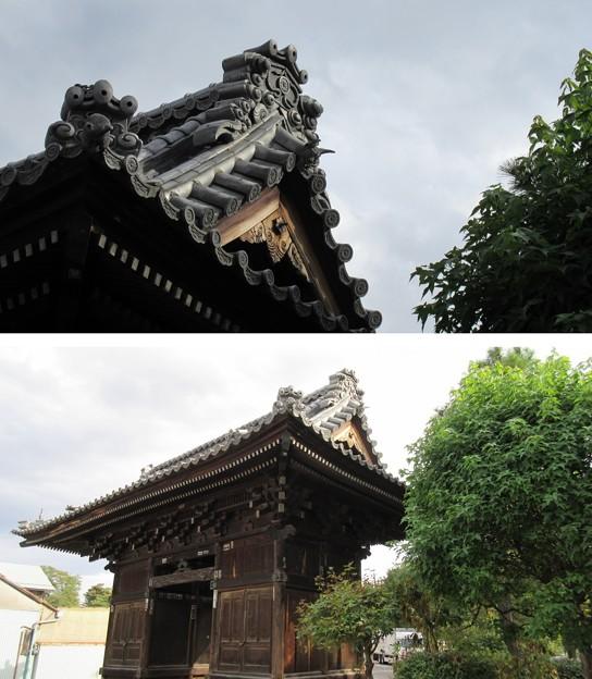 信濃国分寺 仁王門(上田市)