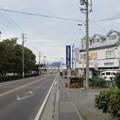 Photos: 信濃国分寺 仁王門(上田市)前より上田城方向