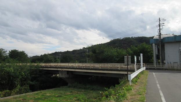 神川合戦の地(上田市)丸子城方向