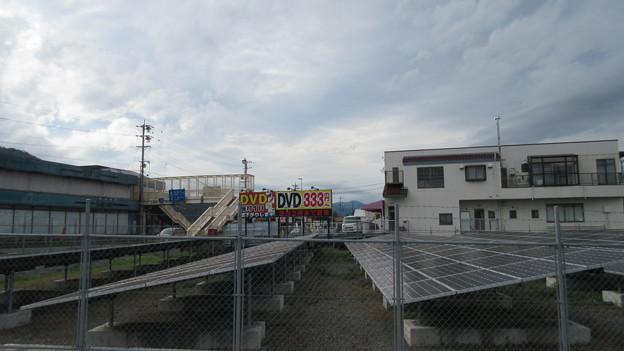 神川合戦の地(上田市)上田城方向