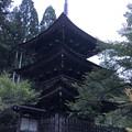 新海三社神社(佐久市)三重塔