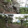 岩崎城 登城路(坂城町)秋葉神社