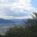 Photos: 葛尾城(坂城町)主郭より南南東