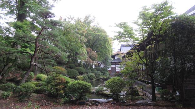 温泉寺(諏訪市)庭園