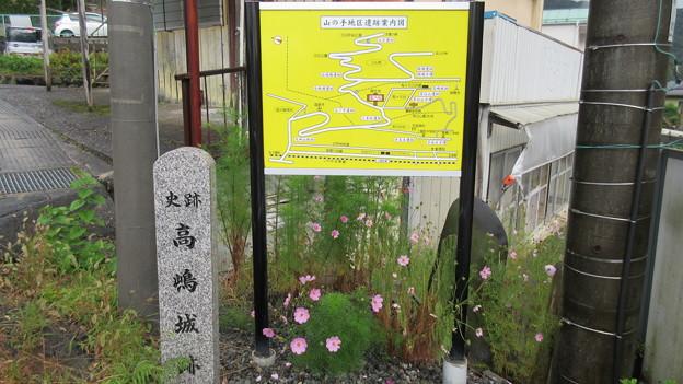 高島古城(諏訪市)