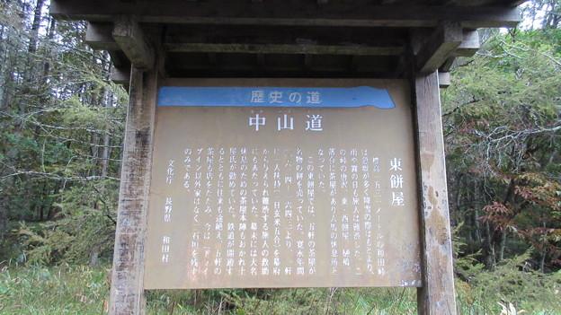旧中山道 和田峠 東餅茶屋跡(長野県小県郡長和町)