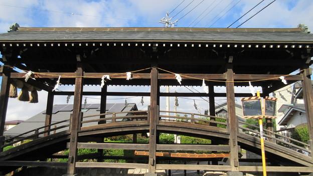 下社 春宮(下諏訪町)下馬橋