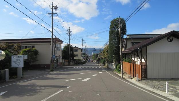 Photos: 下社 春宮(下諏訪町)下馬橋より大鳥居
