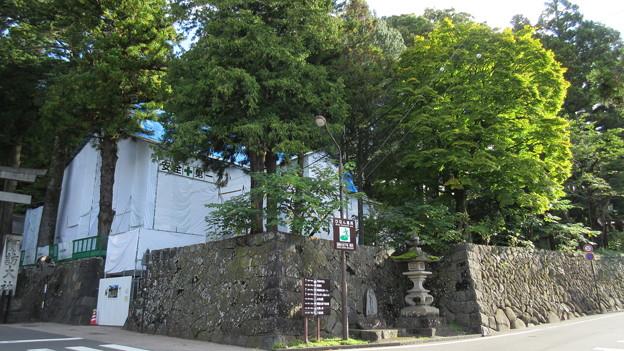 下社 春宮(下諏訪町)斎館