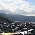 霞ヶ城跡(下諏訪町)高島古城方向