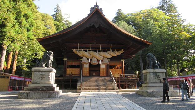 下社 秋宮(下諏訪町)神楽殿