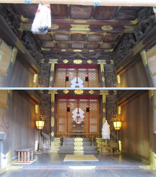 下社 秋宮(下諏訪町)拝殿