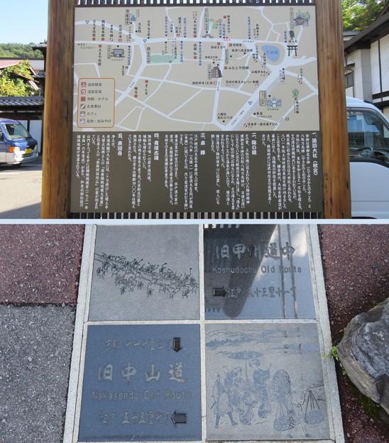下諏訪宿(下諏訪町)甲州道中・中山道合流地点