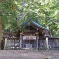 Photos: 上社 前宮(茅野市宮川)拝殿