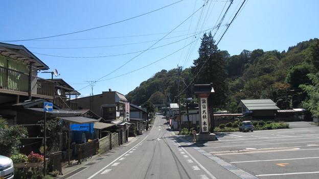 Photos: 上社 本宮(諏訪市中洲)大鳥居