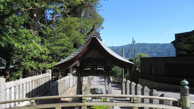 上社 本宮(諏訪市中洲)手水舎