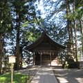 Photos: 上社 本宮(諏訪市中洲)駒形屋