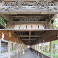Photos: 上社 本宮(諏訪市中洲)布橋
