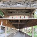 上社 本宮(諏訪市中洲)布橋
