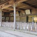 Photos: 上社 本宮(諏訪市中洲)額堂