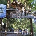 上社 本宮(諏訪市中洲)塀重門
