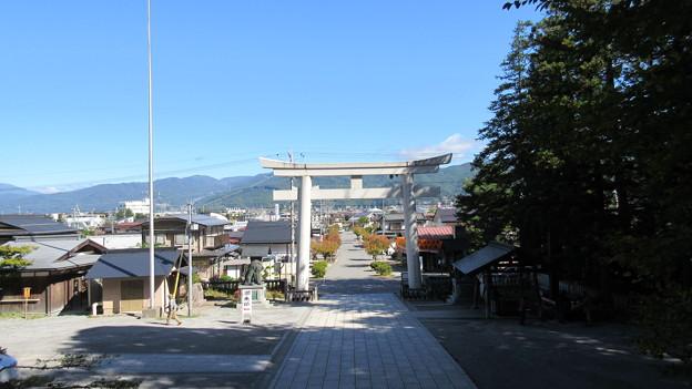 上社 本宮(諏訪市中洲)北鳥居