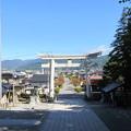 Photos: 上社 本宮(諏訪市中洲)北鳥居