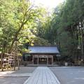 Photos: 上社 本宮(諏訪市中洲)拝所