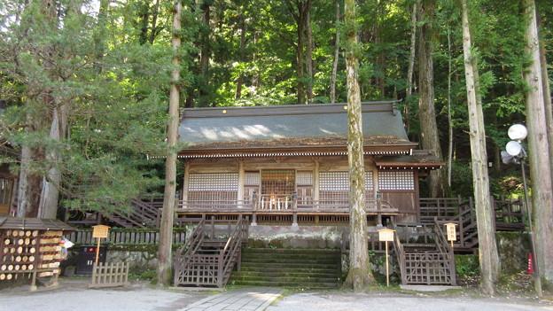 Photos: 上社 本宮(諏訪市中洲)勅願殿