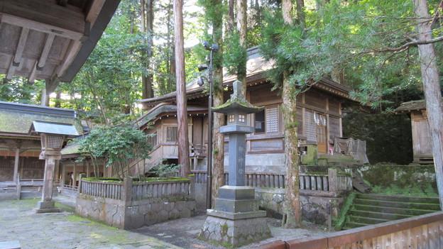 上社 本宮(諏訪市中洲)神饌所