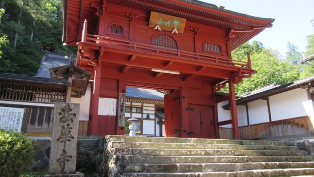 法華寺/上社神宮寺跡(諏訪市)山門