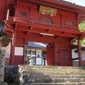 Photos: 法華寺/上社神宮寺跡(諏訪市)山門
