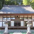 法華寺/上社神宮寺跡(諏訪市)本堂
