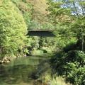 巴ケ淵(木曽町)木曽川