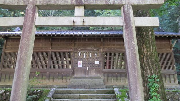南宮神社(木曽町)拝殿