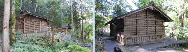 南宮神社(木曽町)本殿・拝殿