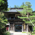 Photos: 徳音寺(木曽町)山門(鐘楼門)