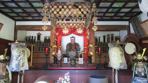 徳音寺(木曽町)木曽義仲公霊廟