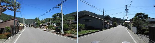 旧中山道 宮ノ越宿 脇本陣 問屋場跡(木曽町)