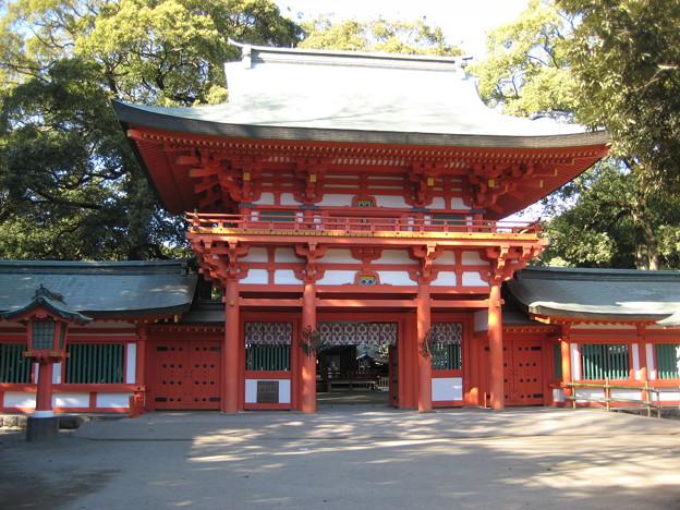 11.01.31.氷川神社(大宮区)楼門