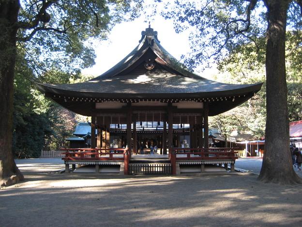 Photos: 11.01.31.氷川神社(大宮区)舞殿