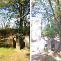 白河小峰城 三之丸 土塁(福島県白河市)戊辰薩藩戦死者墓