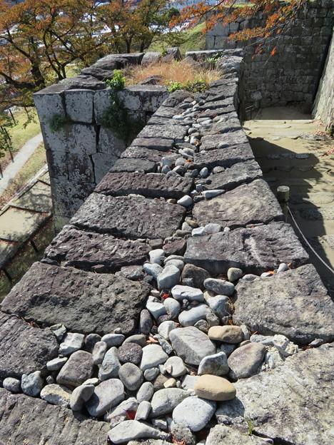 白河小峰城 本丸(福島県白河市)櫻之門跡