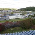 Photos: 白河小峰城 本丸三重櫓(福島県白河市)より搦手・阿武隈川