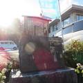 二本松城(福島県二本松市)二本松少年隊 小沢幾弥戦死の地碑
