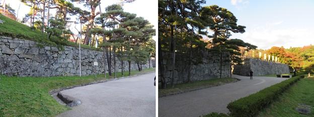 二本松城(福島県二本松市)箕輪門桝形