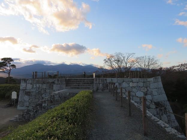 二本松城(福島県二本松市)本丸西櫓台