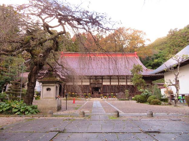 大隣寺(二本松市)山門跡 ・本堂