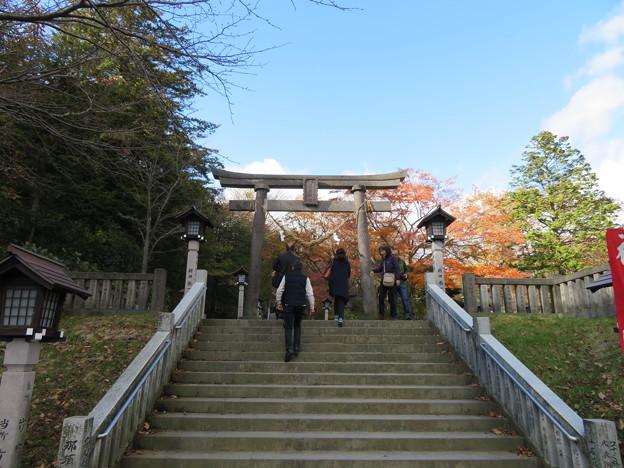 那須温泉神社(那須町)二の鳥居